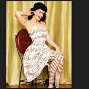Bernie Dexter Collection French Cafe Paris Dress